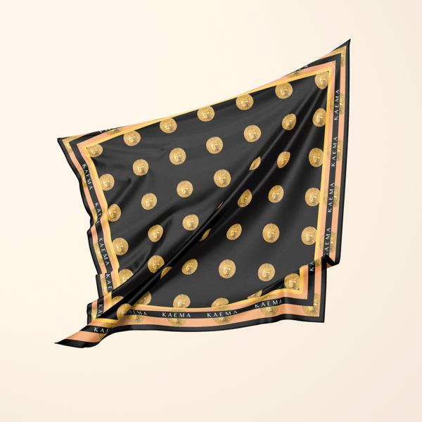 black-rubinho-scarf-orange-edge